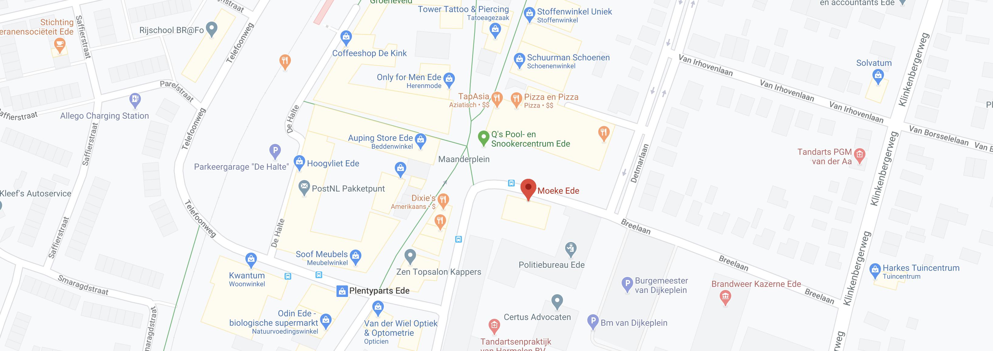 Moeke Ede Google Maps.png